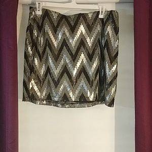 Forever 21 2X Plus size sequin skirt NWT